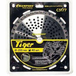 Для дисковых пил - Нож с зубцами из твердого сплава Tiger 40/255/25,4, 0