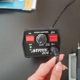 Аппараты для маникюра и педикюра - Аппарат для маникюра strong 204/102l с педалью, 0