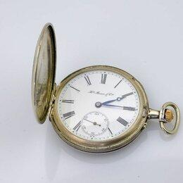 Другое - Серебряные часы, Henry Moser & Ciе.Эмаль. 84 проба, 0