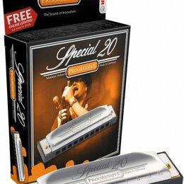 Губные гармошки - Губная гармошка диатоническая HOHNER Special 20 560/20 G, 0
