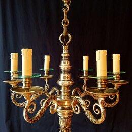 Люстры и потолочные светильники - Итальянская бронзовая Люстра, 0