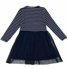 Платья и сарафаны - Детское платье с юбкой в полоску, 0