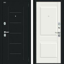 Входные двери - Входная дверь Некст Kale Букле черное Off-white, 0