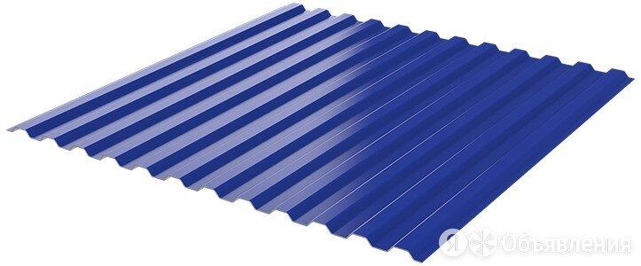 Профнастил НС-10 RAL5002/5002 Синий Ультрамарин ш1.19м т0.45мм двухсторонний по цене 604₽ - Кровля и водосток, фото 0