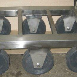 Оборудование для транспортировки - Тележка для ящиков 400х600 мм, 0