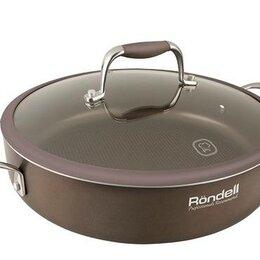 Сковороды и сотейники - Сотейник с/кр 26 см Mocco RDA-282 (BN) Rondell, 0
