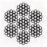 Металлопрокат - Канат двойной свивки ЛК-О ГОСТ 3077-80, 0