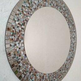 Зеркала - Круглое зеркало в мозаичной раме. , 0