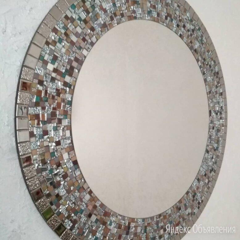 Круглое зеркало в мозаичной раме.  по цене 9990₽ - Зеркала, фото 0