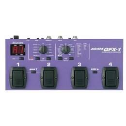 Процессоры и педали эффектов - Гитарный  процессор ZOOM GFX-1, 0
