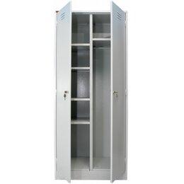 Шкафы для инструментов - Металлический шкаф для уборочного инвентаря ШРМ – 22 У, 0