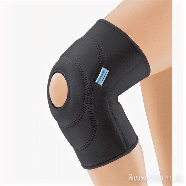 Бандаж на колено с фиксир. подушкой отверст. и спирал. Ребрами арт. RKN-103 M по цене 4160₽ - Устройства, приборы и аксессуары для здоровья, фото 0