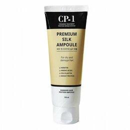Маски и сыворотки - Cыворотка для волос Esthetic House CP-1 Premium Silk Ampoule, 0
