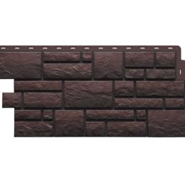 Фасадные панели - Фасадные панели BURG 445*946 мм Темный, 0