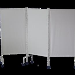 Ширмы - Ширма медицинская трёхсекционная МСК -3302 на колесах, 0