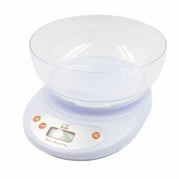 Прочая техника - Весы кухонные электронные, макс. вес 5кг, цена деления 1гр (бел.) питание 2хАА, , 0