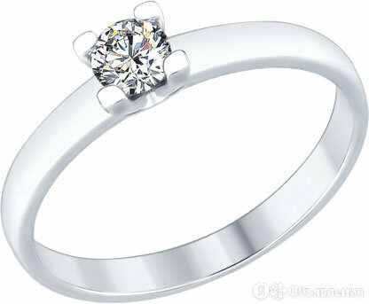 Кольцо SOKOLOV 89010060_s_17-5 по цене 690₽ - Кольца и перстни, фото 0