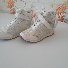 Кроссовки и кеды - Кроссовки белые подростковые, 0