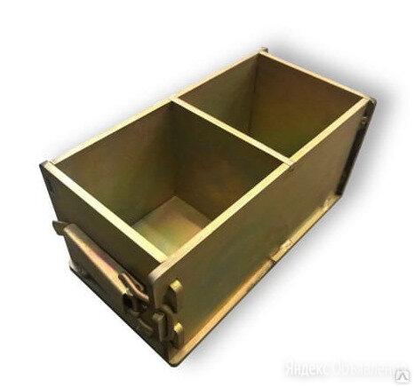 Форма куб для бетона по цене 4500₽ - Железобетонные изделия, фото 0