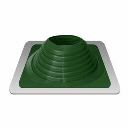 Дымоходы - Дымоход Проходник д/крыш прямой №8 зеленый (силикон) Д=180-330 «Э/Т», 0