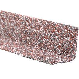 Уголки, кронштейны, держатели - Уголок внутренний металлический HAUBERK Мраморный 50*50*1250мм, 0