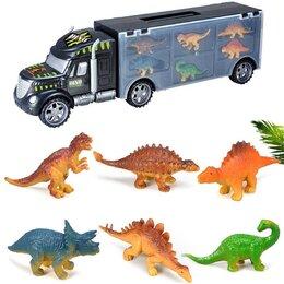 Машинки и техника - Грузовик с динозаврами арт. XN808-7, 0