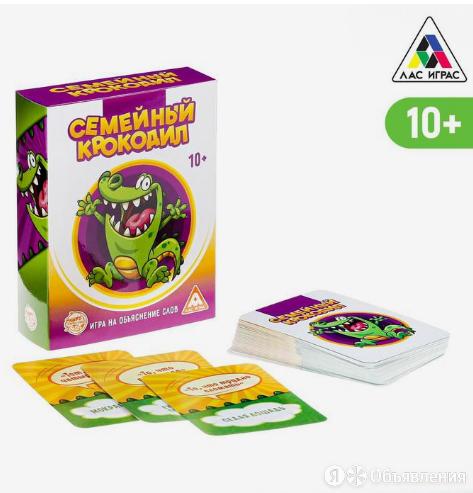 Настольная игра Крокодил семейный по цене 300₽ - Настольные игры, фото 0