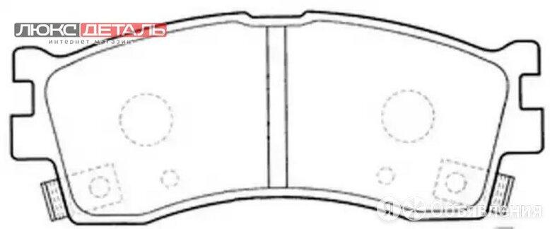 FIT FP0889 КОЛОДКИ ТОРМОЗНЫЕ ДИСКОВЫЕ  по цене 866₽ - Тормозная система , фото 0
