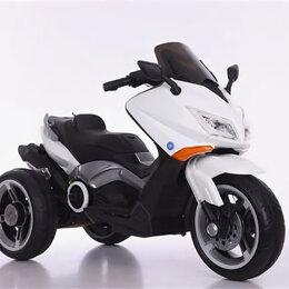Мототехника и электровелосипеды - Электромотоцикл TB918P белый акб 2*6V4,5Ah, 0