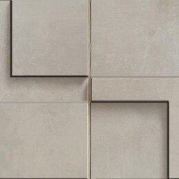 Мозаика - CERDOMUS Chrome Mosaico 3D Clay 12,5X25, 0