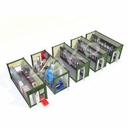Аккумуляторы и комплектующие - Мобильные аккумуляторные мастерские на базе 5-ти кузовов контейнеров АМ-5К-120, 0