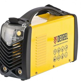 Аксессуары и комплектующие - Сварочный инвертор Denzel 220 А, электронное табло, 0