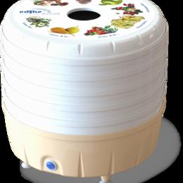 Сушилки для овощей, фруктов, грибов - Электросушилка бытовая Алтай СШ-022 с 5 - решетами в цветной упаковке, 0