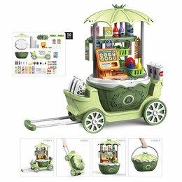 Игрушечная мебель и бытовая техника - Игровой модуль Супермаркет с тележкой 200756742 , 0