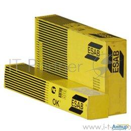 Электроды, проволока, прутки - Электроды для сварки Esab ОК 53.70 ф 4,0мм  Ac/dc переменный/постоянный 6кг д..., 0