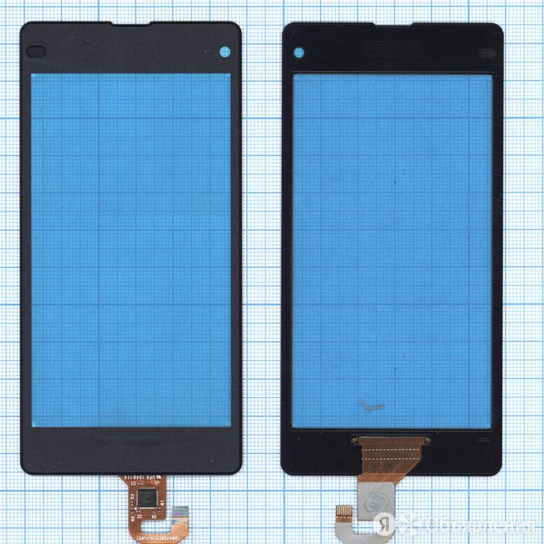 Сенсорное стекло (тачскрин) для Sony Xperia Z1 Compact D5503 черное по цене 206₽ - Защитные пленки и стекла, фото 0
