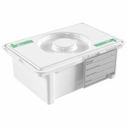 Лабораторное и испытательное оборудование - Емкость-контейнер ЕДПО-1 полипропиленовый для дезинф. и предстерилизационной обр, 0