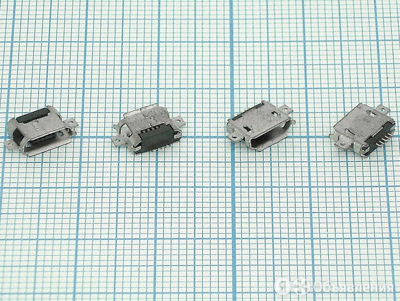Разъем Micro USB для планшета тип USB 40 (RS-MI024) по цене 240₽ - Запчасти и аксессуары для планшетов, фото 0