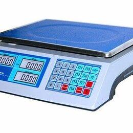 Весы - Весы торговые электронные, весы с печатью этикеток, 0