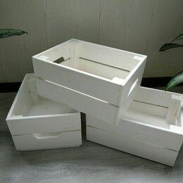 Корзины, коробки и контейнеры - Деревянные ящики Икеа, 0