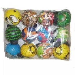 Игрушки  - Мяч на резинке (Ассорти №2) 7см 1/12, 0