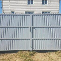 Заборы, ворота и элементы - Ворота распашные стандарт 3,5×2м., 0