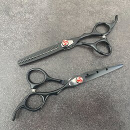 Принадлежности для парикмахерских - Ножницы парикмахерские silver fox новые , 0