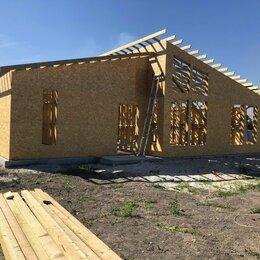Готовые строения - Каркас заводской сборки для дома, деревянный, 0