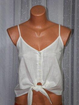 Блузки и кофточки - Блузка льняная новая, 0