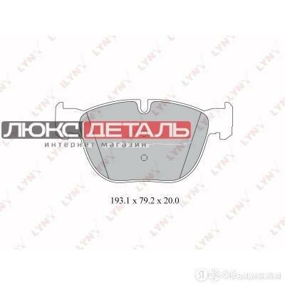 LYNXAUTO BD1418 Колодки тормозные дисковые  по цене 3175₽ - Тормозная система , фото 0