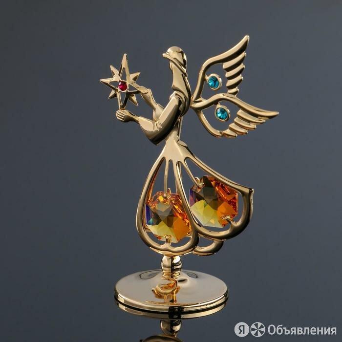 Сувенир 'Ангел' мини, с кристаллами Сваровски по цене 1044₽ - Фигурки и наборы, фото 0