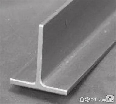 Тавр нержавеющий 50х50х4, AISI 304 по цене 80₽ - Металлопрокат, фото 0