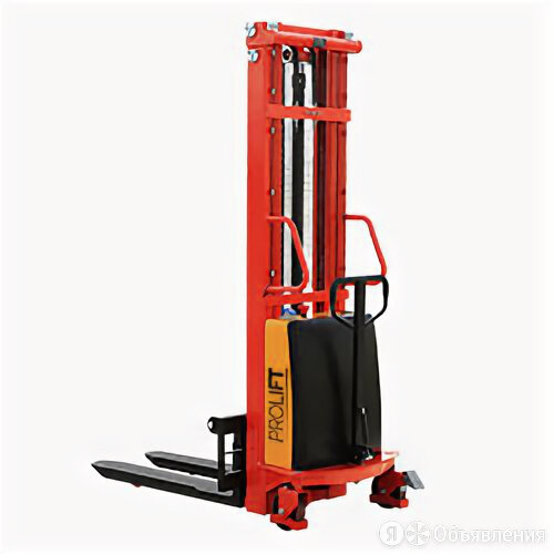 Штабелер с электроподъемом PROLIFT SPN 1516 1,6 м 1500 кг по цене 132325₽ - Прочие станки, фото 0
