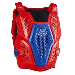 Спортивная защита - Защита панцирь FOX Raceframe Impact - 2020г(L/XL голубой/красный/L), 0